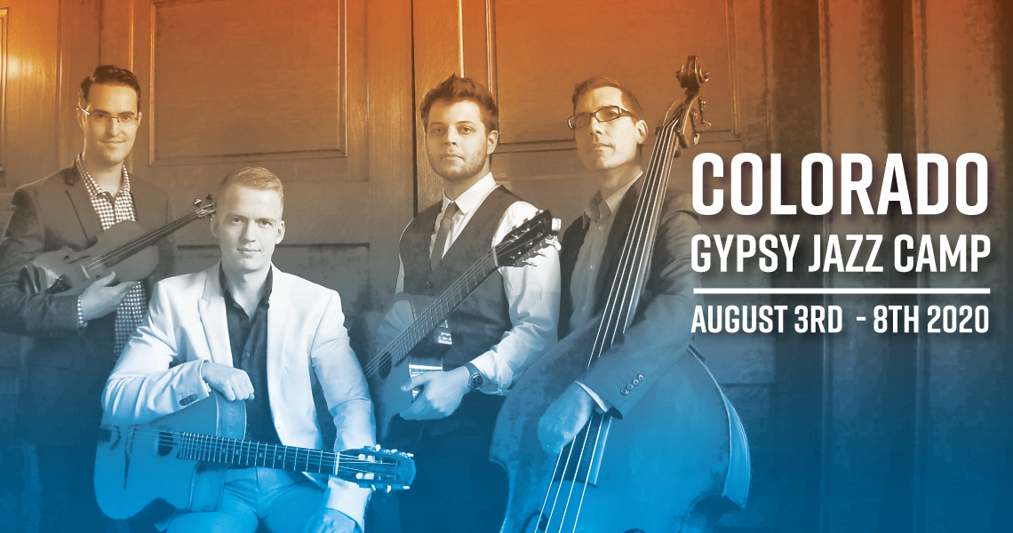 Colorado Gypsy Jazz Camp - August 3rd - 8th 2020